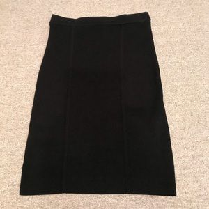 BCBGMAXAZRIA Black skirt small